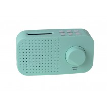 Tiny Audio Ami Robuuste Portable DAB+ Radio Mintgroen