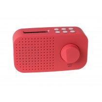 Tiny Audio Ami Robuuste Portable DAB+ Radio Rood